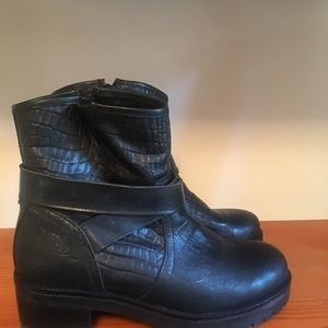 Steve Madden Shoes - New Moto Boots